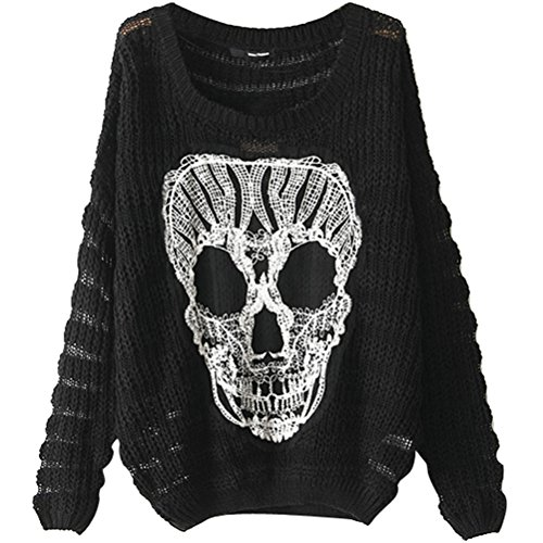 Throw one of these women's skull sweaters over any Inked Shop tank to create a perfect outfit combo. Or rock a sweater dress and your outfit is complete! Inked Shop's indie sweaters are perfect for any pinup, rock, or punk loving gal. Get your own, and find the warmest, fuzziest, and cutest gifts in Inked Shop's sweater section.