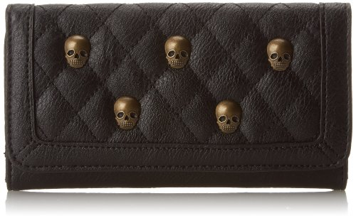Loungefly LF Quilted Skull Studs Wallet