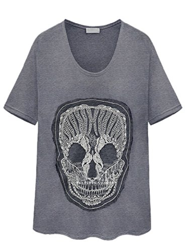 skull top for ladies