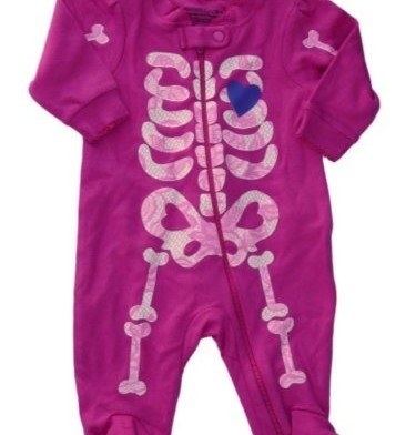 baby girl skull clothes
