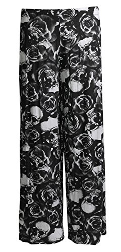 plus size skull leggings