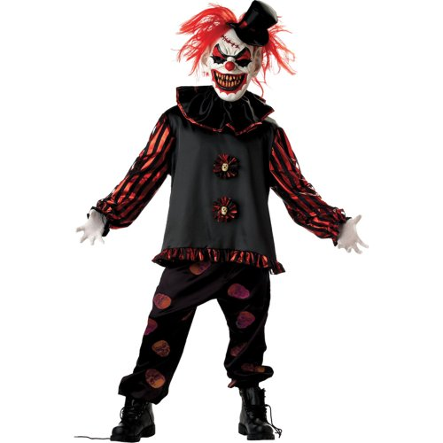 skull clown costume