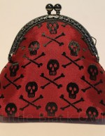 Red Flag Pirate Skull Wallet