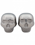 """Skull"" Whiskey Cubes (Silver)"