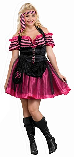 pink plus size costume
